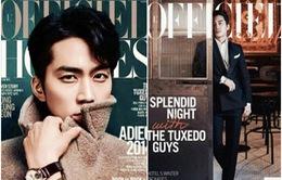 Ngây ngất với vẻ đẹp nam tính của Song Seung Hun
