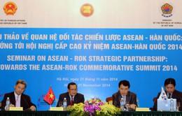 Hội thảo về quan hệ đối tác chiến lược ASEAN – Hàn Quốc