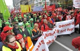 Giao thông hàng không và đường sắt ở Bỉ ngừng trệ vì biểu tình