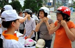 TP.HCM đẩy mạnh chiến dịch truyền thông mũ bảo hiểm đạt chuẩn