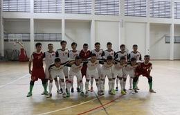 Chốt danh sách 14 tuyển thủ futsal nam Việt Nam dự giải Đông Nam Á