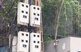 Hà Nội: Nhiều hộ dân mất mạng điện thoại cố định, internet