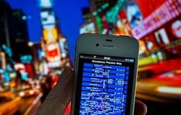 Khách du lịch đang ngày càng phụ thuộc vào smartphone
