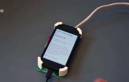 Điều khiển điện thoại di động bằng cử chỉ tay