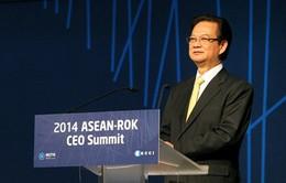 Thủ tướng dự Hội nghị kỷ niệm 25 năm Quan hệ đối thoại ASEAN-Hàn Quốc