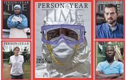 """Nhân vật của năm: Các """"chiến binh"""" Ebola được vinh danh"""