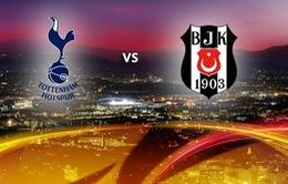 Lịch tường thuật Europa League ngày 03/10: Tâm điểm Tottenham - Besiktas