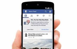 Facebook góp sức vào cuộc chiến chống Ebola