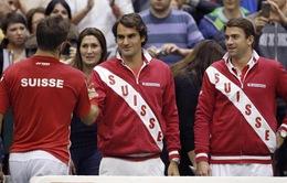 """Federer """"chắp cánh"""" giấc mơ vô địch Davis Cup cùng ĐT Thụy Sĩ"""