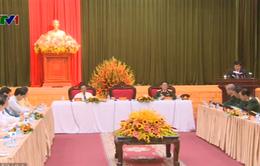 Chủ tịch nước làm việc với Bộ Tư lệnh thủ đô Hà Nội