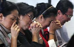 Máy bay Airasia mất tích: Khi ánh sáng hy vọng dần tắt
