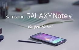 Galaxy Note 4  khẳng định đẳng cấp với S-Pen