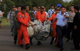 Phát hiện vật thể nghi thân máy bay QZ8501