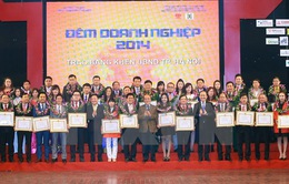 """Chủ tịch Quốc hội Nguyễn Sinh Hùng dự """"Đêm doanh nghiệp 2014"""""""