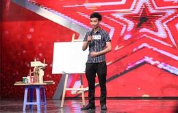 Vietnam's Got Talent: Xem bức họa khiến Hoài Linh bấm nút vàng