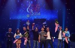 Ban nhạc Hạc San hạnh phúc với chiến thắng tại Bài hát Việt tháng 8