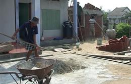 Quảng Nam: Người dân ven biển rủ nhau xây hầm tránh bão
