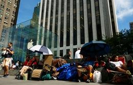 Người hâm mộ nhiều nước xếp hàng mua iPhone 6