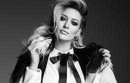 Hilary Duff tỏa sáng trên Elle tháng 12