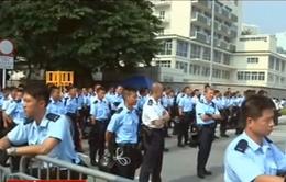 Hong Kong (Trung Quốc) tăng cường cảnh sát tại các điểm biểu tình