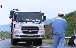 Xe quá tải trên tuyến cao tốc Hà Nội - Lào Cai đã giảm