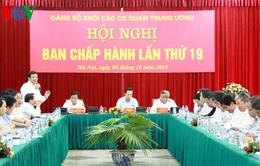 Hội nghị Ban chấp hành Đảng bộ Khối cơ quan TW lần thứ 19