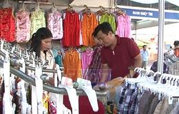 Gần 300 gian hàng tại Hội chợ hàng Việt Nam chất lượng cao