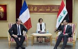 Pháp sẵn sàng hỗ trợ quân sự cho Iraq