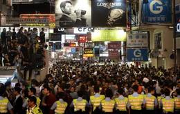 Cảnh sát Hong Kong sẽ giải tỏa các khu trung tâm