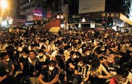 Người biểu tình Hong Kong rút khỏi Mong Kok