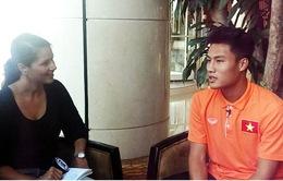 Mạc Hồng Quân ước mơ vô địch AFF Cup cùng ĐT Việt Nam