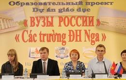 """Triển khai dự án """"Các trường đại học Nga"""" tại Việt Nam"""