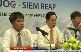 Mở đường bay mới từ Phú Quốc đi Singapore, Siem Reap