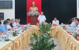 Đoàn công tác Tiểu ban Văn kiện Đại hội XII của Đảng làm việc tại Hải Dương