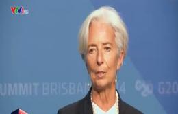 IMF sẽ giám sát cam kết tăng trưởng kinh tế của G20
