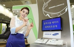 """Samsung phát triển thành công pin """"dẻo"""""""