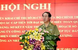 Bộ Công an triển khai Chỉ thị về tổ chức Đại hội Đảng