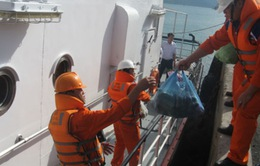Kiên trì rà soát các vùng biển tìm kiếm 8 thuyền viên mất tích