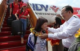 Vietjet khai trương đường bay Cần Thơ - Hà Nội