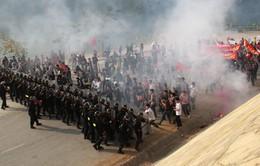 Diễn tập chống khủng bố nhà máy thủy điện Sơn La