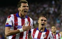 Đánh bại ông vua châu Âu, Atletico giành Siêu cúp Tây Ban Nha