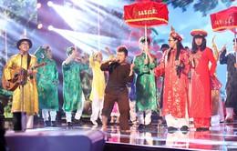 """Nhân tố bí ẩn 2014 – Liveshow 4: FB Boiz ngậm ngùi """"nhường vé"""" cho Uyên Nguyên"""