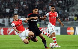 Arsenal - Besiktas: Ngày không Giroud (1h45, VTV3 và VTV3HD)