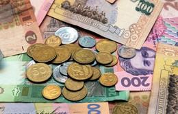 Đồng nội tệ Ukraine giảm giá kỷ lục