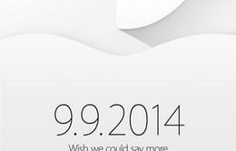 Apple gửi thư mời tham dự sự kiện ngày 9/9