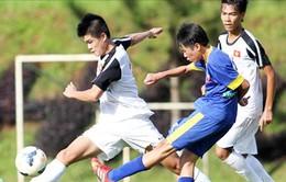 U19 Việt Nam: Đội chính tập nhẹ, đội phụ căng sức