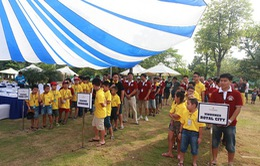 Vinhomes tổ chức giải thi cờ chào mừng Giải phóng Thủ đô