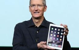 Cổ phiếu Apple giảm giá sau buổi ra mắt iPad mới