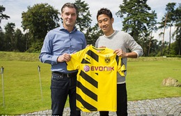Dortmund chưa kịp dùng đã mất Kagawa vì chấn thương