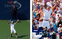 Djokovic tâm phục, khẩu phục trước Nishikori